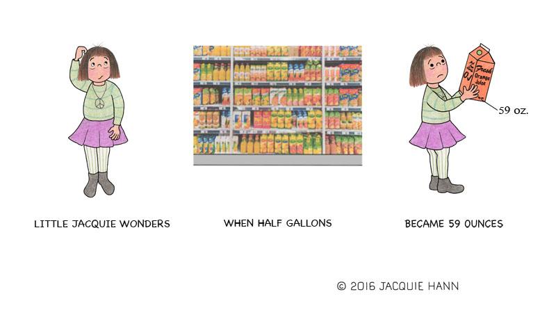 Little Jacquie on Size Matters by Jaccquie Hann