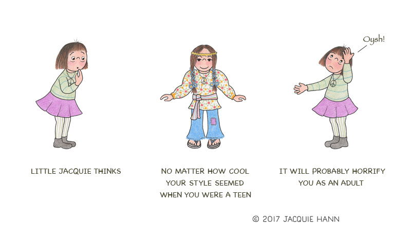 Little Jacquie on Teenage Style by Jacquie Hann
