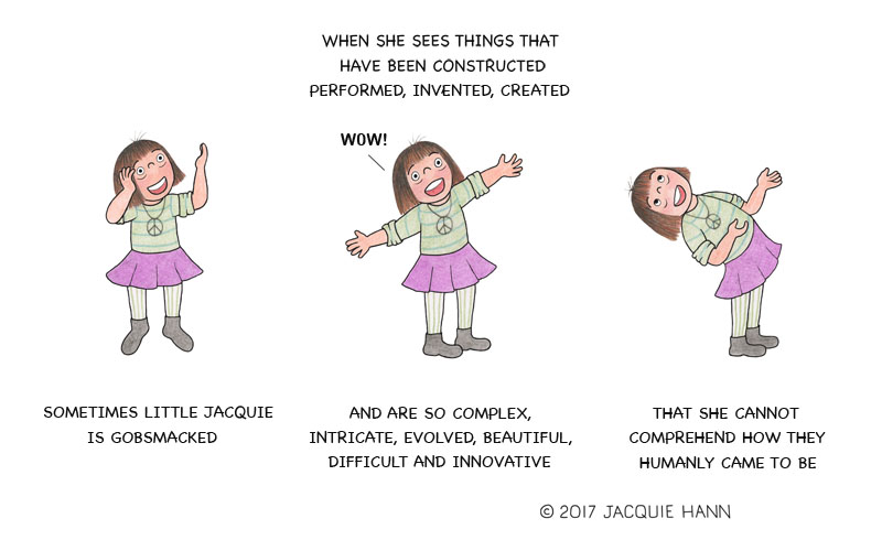 Little Jacquie on Gobsmacked by Jacquie Hann
