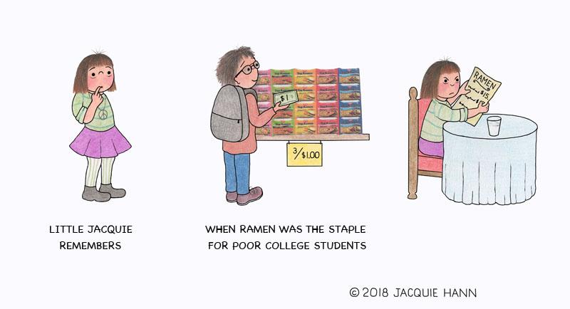 Little Jacquie on Ramen by Jacquie Hann