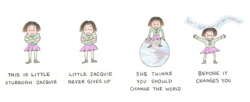 Little Stubborn Jacquie by Jacquie Hann