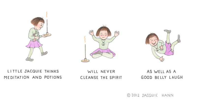 Little Jacquie on Cleansing the Spirit by Jacquie Hann