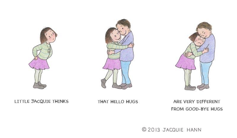 Little Jacquie on Hugs by Jacquie Hann