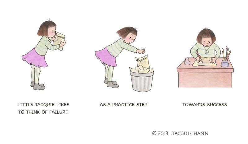 Little Jacquie on Failure by Jacquie Hann