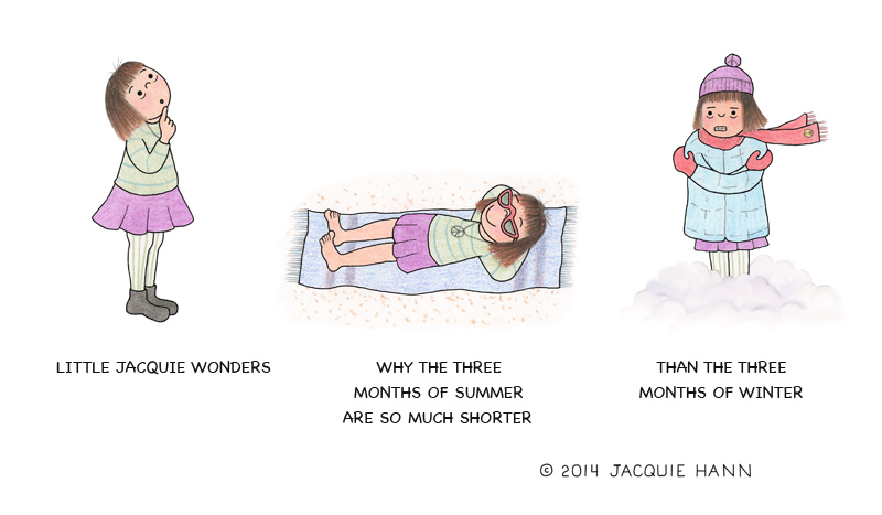Little Jacquie on Summer by Jacquie Hann