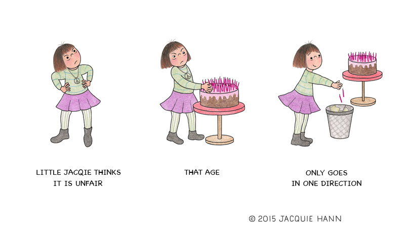Little Jacquie on Age by Jacquie Hann